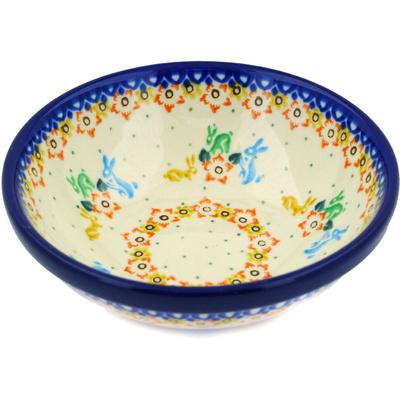 Polish Pottery 6-inch Bowl | Boleslawiec Stoneware | Polmedia H4044D