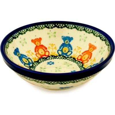 Polish Pottery 6-inch Bowl | Boleslawiec Stoneware | Polmedia H6735A