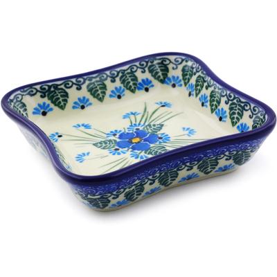 Polish Pottery 4-inch Bowl | Boleslawiec Stoneware | Polmedia H0810I
