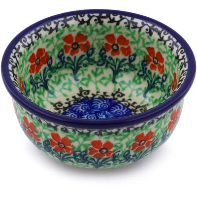 Polish Pottery 3-inch Bowl | Boleslawiec Stoneware | Polmedia H6694I
