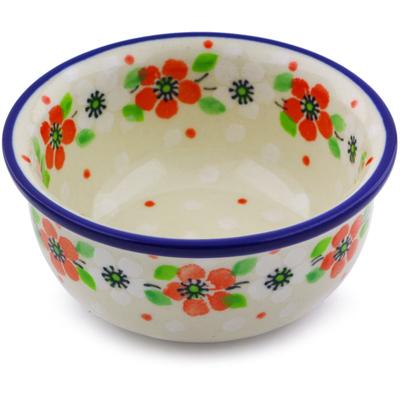 Polish Pottery 3-inch Bowl | Boleslawiec Stoneware | Polmedia H6713I