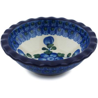 Polish Pottery 5-inch Bowl   Boleslawiec Stoneware   Polmedia H1291B