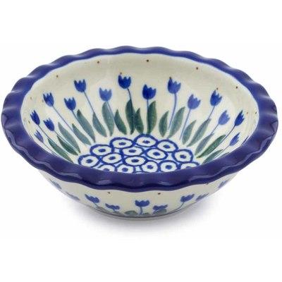 Polish Pottery 5-inch Bowl | Boleslawiec Stoneware | Polmedia H0652J