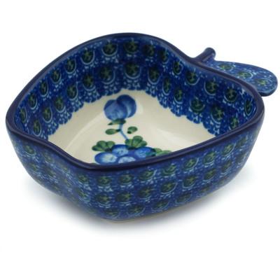 Polish Pottery 4-inch Bowl   Boleslawiec Stoneware   Polmedia H4103I