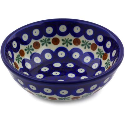 Polish Pottery 5-inch Bowl | Boleslawiec Stoneware | Polmedia H8518I