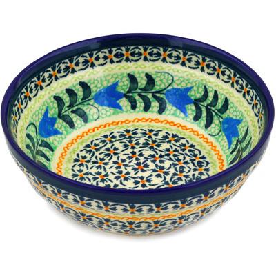 Polish Pottery 7-inch Bowl | Boleslawiec Stoneware | Polmedia H7520D