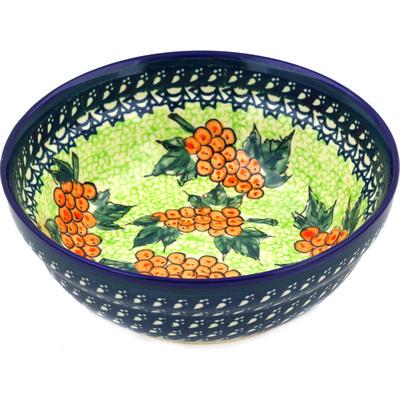 Polish Pottery 7-inch Bowl | Boleslawiec Stoneware | Polmedia H7521D