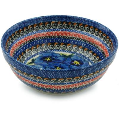 Polish Pottery 7-inch Bowl | Boleslawiec Stoneware | Polmedia H9937B