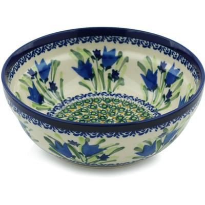 Polish Pottery 7-inch Bowl | Boleslawiec Stoneware | Polmedia H9938B