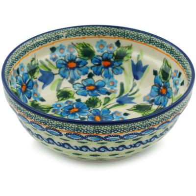 Polish Pottery 7-inch Bowl | Boleslawiec Stoneware | Polmedia H1869C