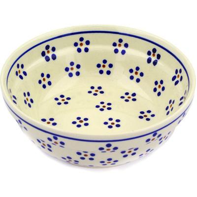 Polish Pottery 7-inch Bowl | Boleslawiec Stoneware | Polmedia H0168E