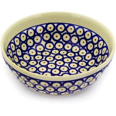 Polish Pottery 7-inch Bowl | Boleslawiec Stoneware | Polmedia H5361D