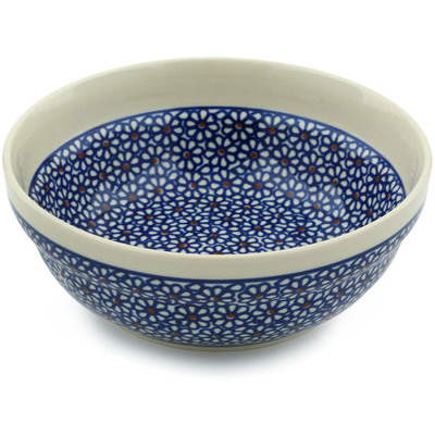 Polish Pottery 7-inch Bowl | Boleslawiec Stoneware | Polmedia H5619C