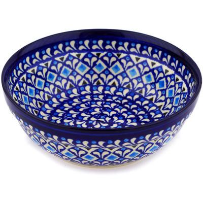 Polish Pottery 7-inch Bowl | Boleslawiec Stoneware | Polmedia H2378D