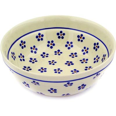 Polish Pottery 7-inch Bowl | Boleslawiec Stoneware | Polmedia H0170E
