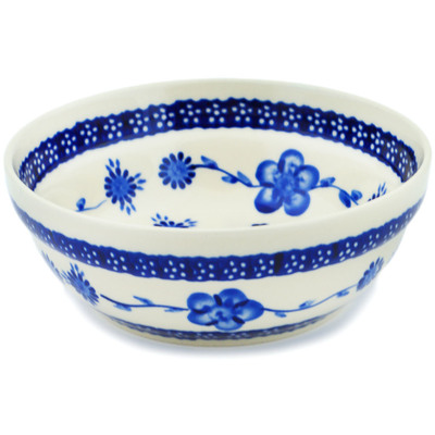 Polish Pottery 7-inch Bowl | Boleslawiec Stoneware | Polmedia H3062C