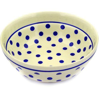 Polish Pottery 7-inch Bowl | Boleslawiec Stoneware | Polmedia H0171E