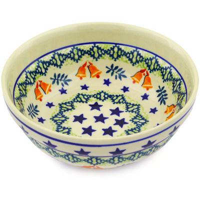Polish Pottery 7-inch Bowl | Boleslawiec Stoneware | Polmedia H8428E