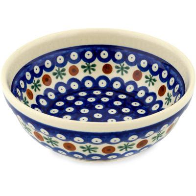 Polish Pottery 7-inch Bowl | Boleslawiec Stoneware | Polmedia H0820B