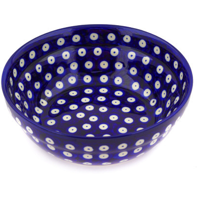 Polish Pottery 7-inch Bowl | Boleslawiec Stoneware | Polmedia H9534D