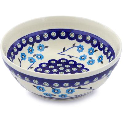 Polish Pottery 7-inch Bowl | Boleslawiec Stoneware | Polmedia H3539D