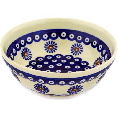 Polish Pottery 7-inch Bowl | Boleslawiec Stoneware | Polmedia H2383D
