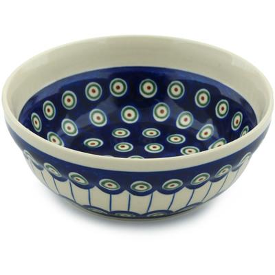 Polish Pottery 7-inch Bowl | Boleslawiec Stoneware | Polmedia H4271C
