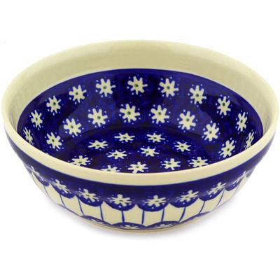 Polish Pottery 7-inch Bowl | Boleslawiec Stoneware | Polmedia H2384D