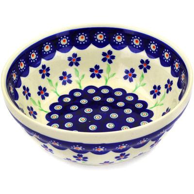 Polish Pottery 7-inch Bowl | Boleslawiec Stoneware | Polmedia H9669D
