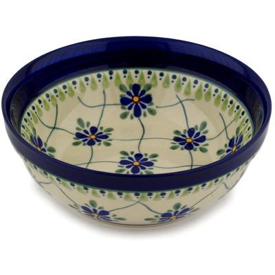 Polish Pottery 7-inch Bowl | Boleslawiec Stoneware | Polmedia H9615C