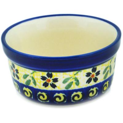 Polish Pottery 4-inch Bowl | Boleslawiec Stoneware | Polmedia H8740B