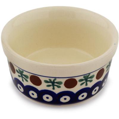 Polish Pottery 4-inch Bowl | Boleslawiec Stoneware | Polmedia H7650C