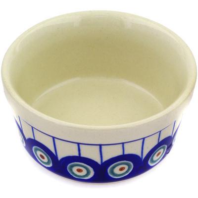 Polish Pottery 4-inch Bowl | Boleslawiec Stoneware | Polmedia H4274C