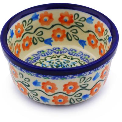 Polish Pottery 4-inch Bowl | Boleslawiec Stoneware | Polmedia H8051I