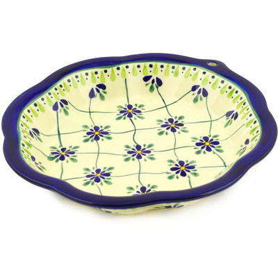 Polish Pottery 9-inch Bowl | Boleslawiec Stoneware | Polmedia H7776D