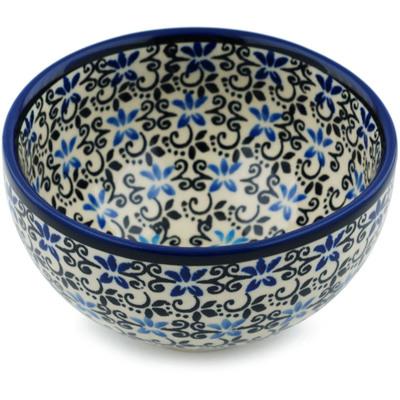 Polish Pottery 5-inch Bowl | Boleslawiec Stoneware | Polmedia H4780I