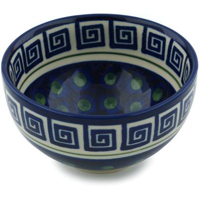Polish Pottery 5-inch Bowl | Boleslawiec Stoneware | Polmedia H4781I
