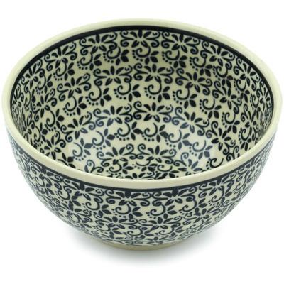 Polish Pottery 5-inch Bowl | Boleslawiec Stoneware | Polmedia H7400H
