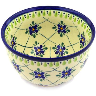 Polish Pottery 6-inch Bowl | Boleslawiec Stoneware | Polmedia H3238D