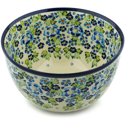 Polish Pottery 10-inch Bowl | Boleslawiec Stoneware | Polmedia H4843I