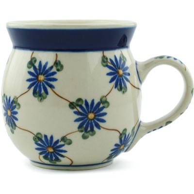 Polish Pottery 8 oz Bubble Mug | Boleslawiec Stoneware | Polmedia H2474A