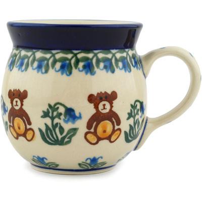 Polish Pottery 8 oz Bubble Mug | Boleslawiec Stoneware | Polmedia H7064C