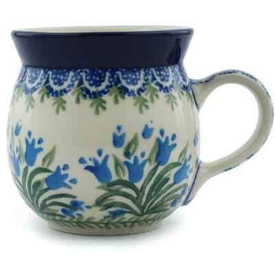Polish Pottery 8 oz Bubble Mug | Boleslawiec Stoneware | Polmedia H4630I