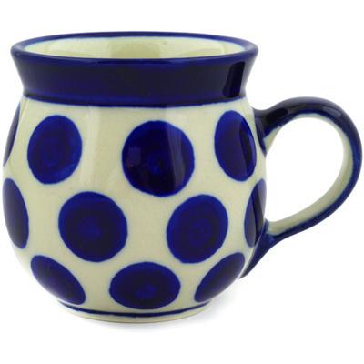 Polish Pottery 8 oz Bubble Mug | Boleslawiec Stoneware | Polmedia H0438E