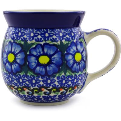 Polish Pottery 16 oz Bubble Mug   Boleslawiec Stoneware   Polmedia H1054I
