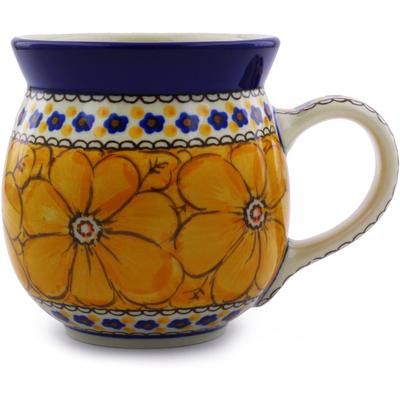 Polish Pottery 16 oz Bubble Mug   Boleslawiec Stoneware   Polmedia H1407I