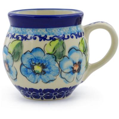 Polish Pottery 7 oz Bubble Mug | Boleslawiec Stoneware | Polmedia H6436F