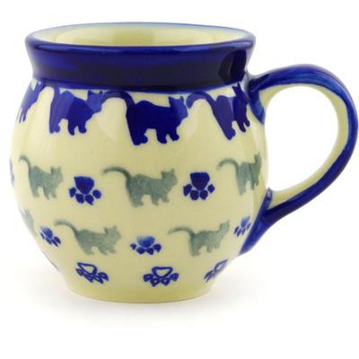 Polish Pottery 7 oz Bubble Mug   Boleslawiec Stoneware   Polmedia H1826G