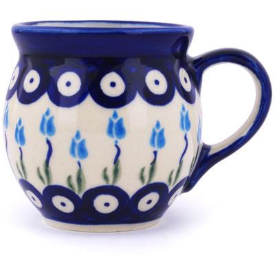 Polish Pottery 7 oz Bubble Mug | Boleslawiec Stoneware | Polmedia H7274G