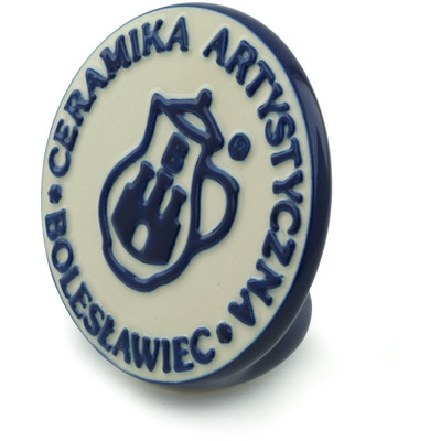 Polish Pottery 4-inch CA Factory Logo | Boleslawiec Stoneware | Polmedia H9251B